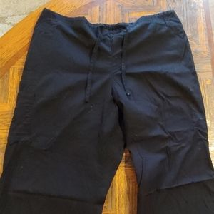 SB scrub pants XL Black